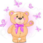 Link toCute teddy bear vector illustration 01