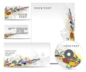 Template cover brochure design vector 05
