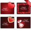 Various Valentines Day Cards design vector set 10