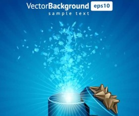 Vector Background with Gift Box set 01