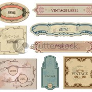 Link toVintage labels art vector graphic 02
