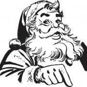 Link toHand drawn vintage santa vector material 03