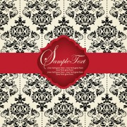 Link toVintage backgrounds with luxurious floral vector 02