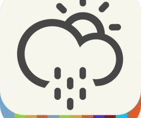 Weather elements psd icon