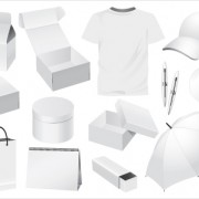 Link toSet of white objects in life elements vector material 10