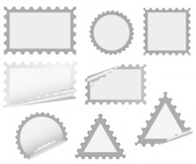 Set of White objects In life elements vector material 07