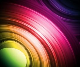 Strong light lines vector backgrounds art 01