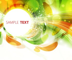 Abstract Garbage backgrounds vector 02