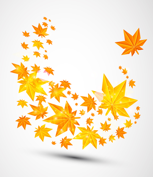 Pretty autumn backgrounds art vector 02