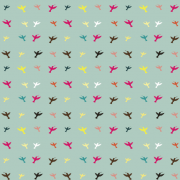 Link toDifferent color birds pattern vector