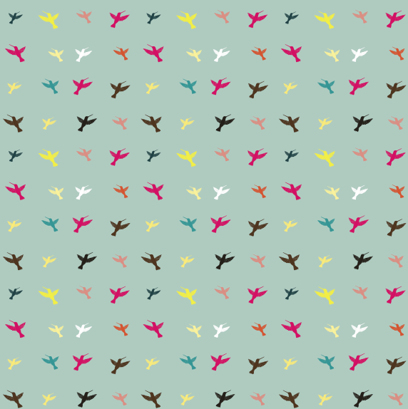 different color birds pattern vector free download