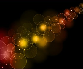 Dream Background with light effects design vector 02
