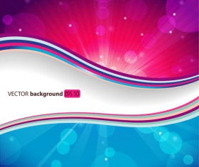 Dream Background with light effects design vector 03