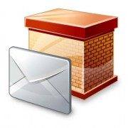 Link toSet of block email icon vector