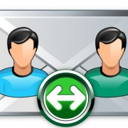 Link toEmail broadcast icon vector