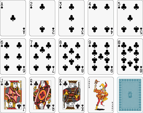 Different playing card vector graphic 02 vector card free download different playing card vector graphic 02 pronofoot35fo Choice Image