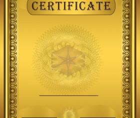 Vector Templates of certificates design set 03