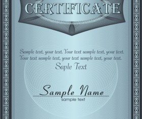 Vector Templates of certificates design set 04