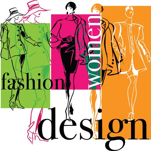 Hand Drawn Fashion Design Elements Vector 04 Free Download