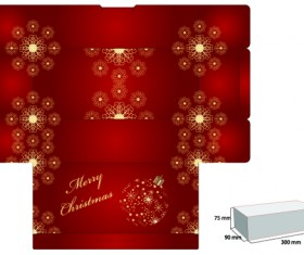Elements of Plans gift box design vector 01