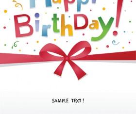 Best Happy birthday design elements vector set 03