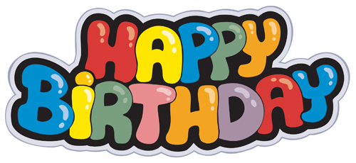 Best Happy birthday design elements vector set 06