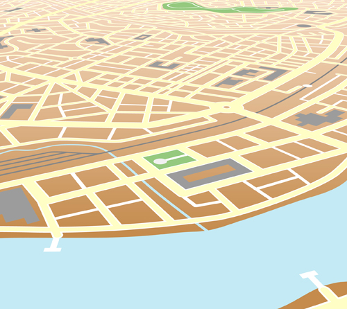City Map Vector Free City Map Design Elements