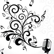 Link toStylish music illustration vector graphic 02