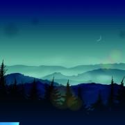 Link toNight the moon elements vector 02