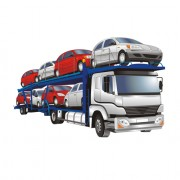 Link toDifferent of trucks vector illustration 02