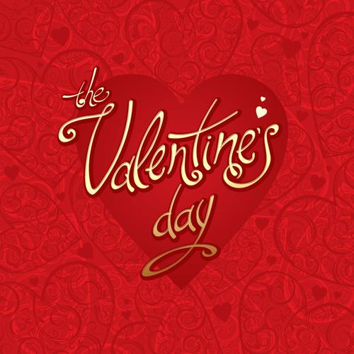 The Valentine card design vector graphic 03 Vector Card Vector – Valentine Cards Design