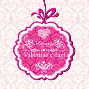 Link toThe valentine card design vector graphic 05