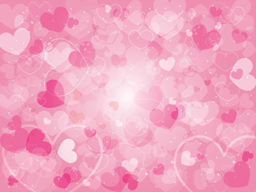 Romantic Of Valentines Day Backgrounds Art Vector 01