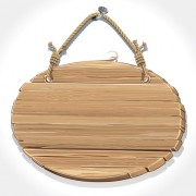 Link toRetro wooden board signage design vector 03
