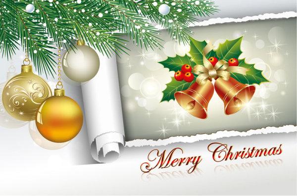 creative 2013 christmas decor art vector 02 free download
