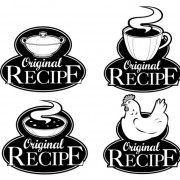 Link toSet of recipe labels vector 05