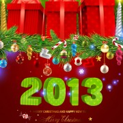 Link toPretty 2013 greeting cards background vector 01