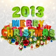 Link toPretty 2013 greeting cards background vector 02