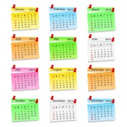 Link toElements of creative calendar grid 2013 vector 03