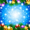 ornate Christmas ornaments elements vector backgrounds 01