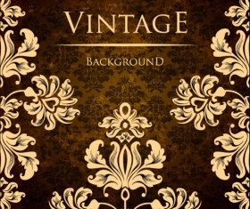 ornate vintage golden frame backgrounds vector 02