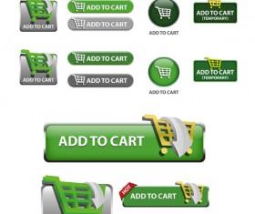 Elements of Creative web button design vector material 04