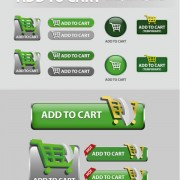 Link toElements of creative web button design vector material 06