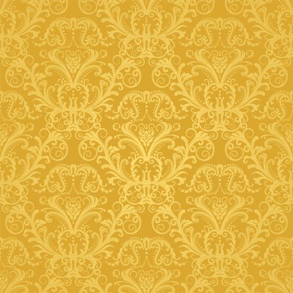 Elements of Ornate Decorative pattern art vector set 03