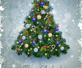 Garbage vintage Christmas vector backgrounds 02