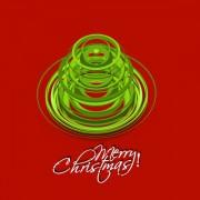 Link toPaper cut christmas tree design vector 08