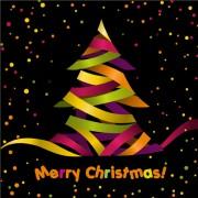 Link toPaper cut christmas tree design vector 14
