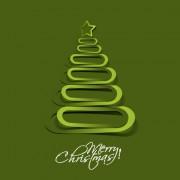 Link toPaper cut christmas tree design vector 15