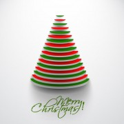 Link toPaper cut christmas tree design vector 16