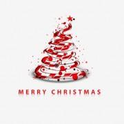 Link toPaper cut christmas tree design vector 25